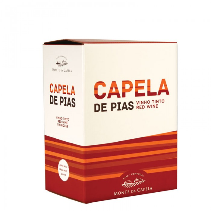 BAG IN BOX  CAPELA DE PIAS RED