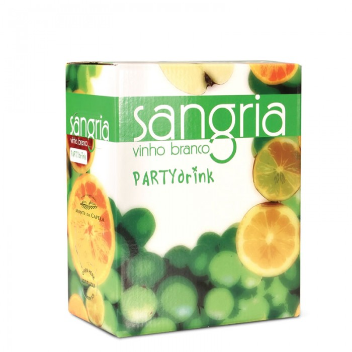 SANGRIA PARTY DRINK WHITE 3L