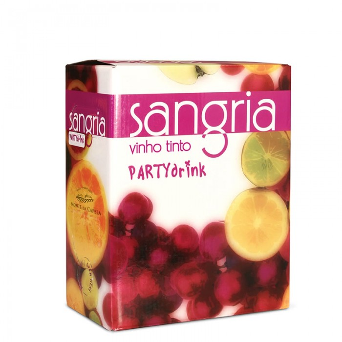 SANGRIA PARTY DRINK RED
