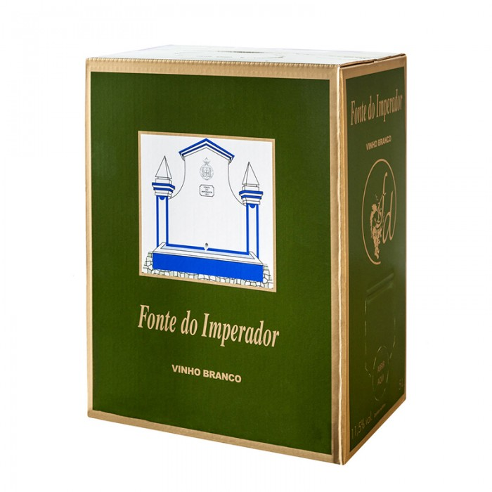 BAG IN BOX  FONTE DO IMPERADOR WHITE